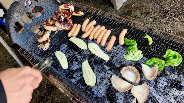 野菜BBQ
