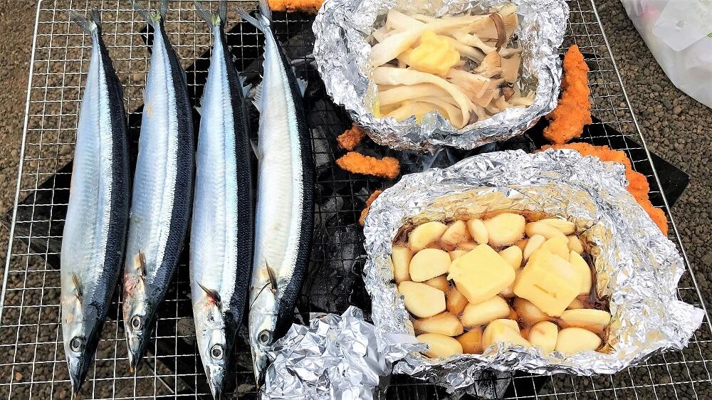 秋刀魚BBQ