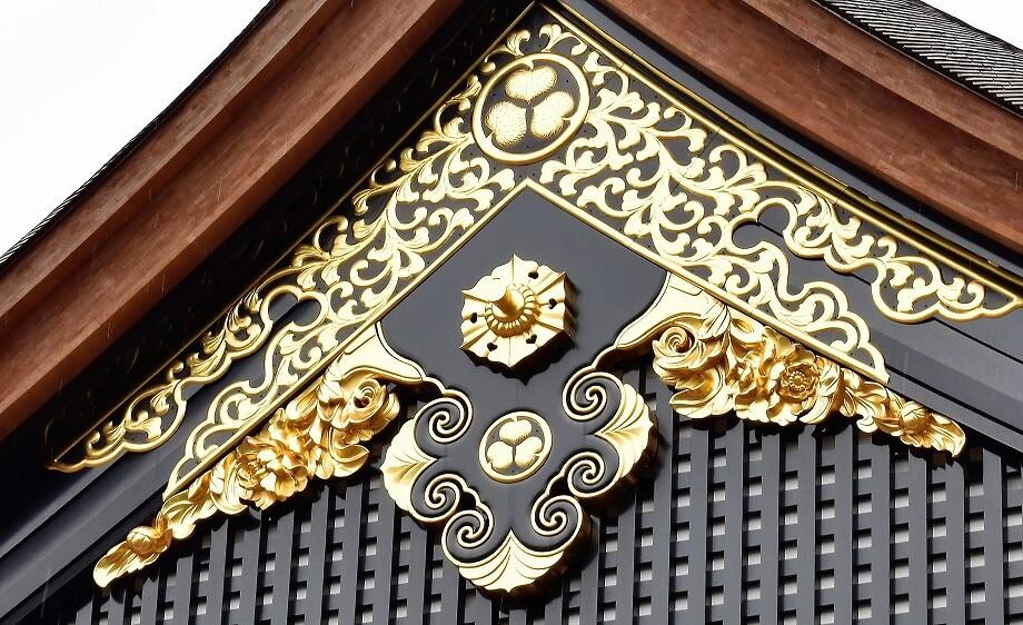 名古屋城本丸御殿懸魚と破風に注目