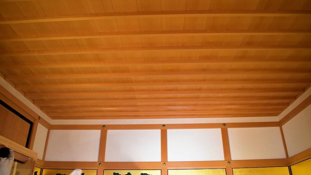 名古屋城本丸御殿玄関二之間竿縁天井