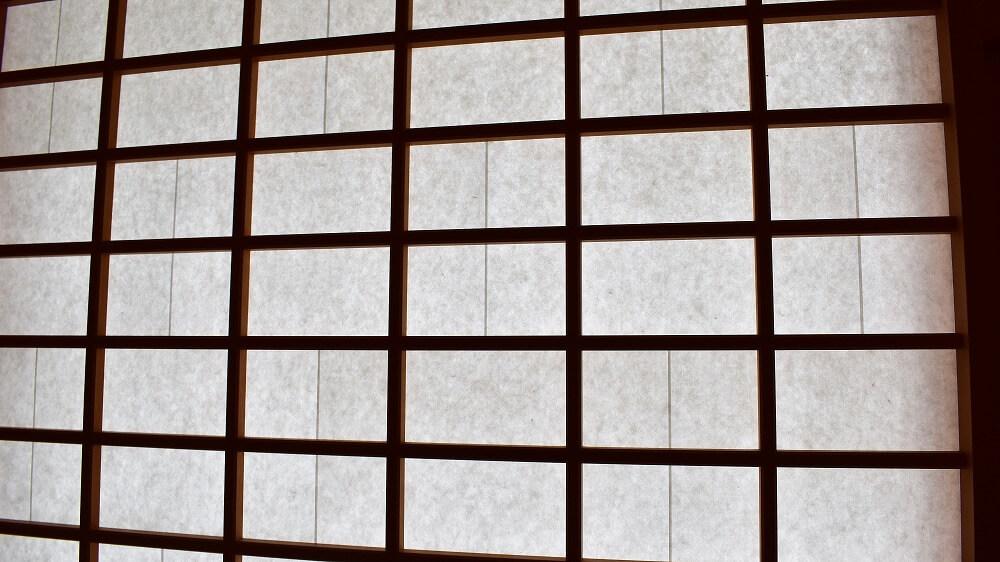 名古屋城本丸御殿表書院の障子