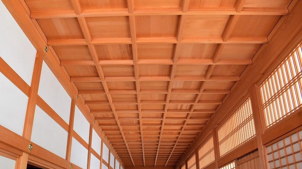 名古屋城本丸御殿表書院廊下格天井