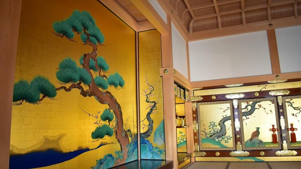 名古屋城本丸御殿表書院上段之間の床の間