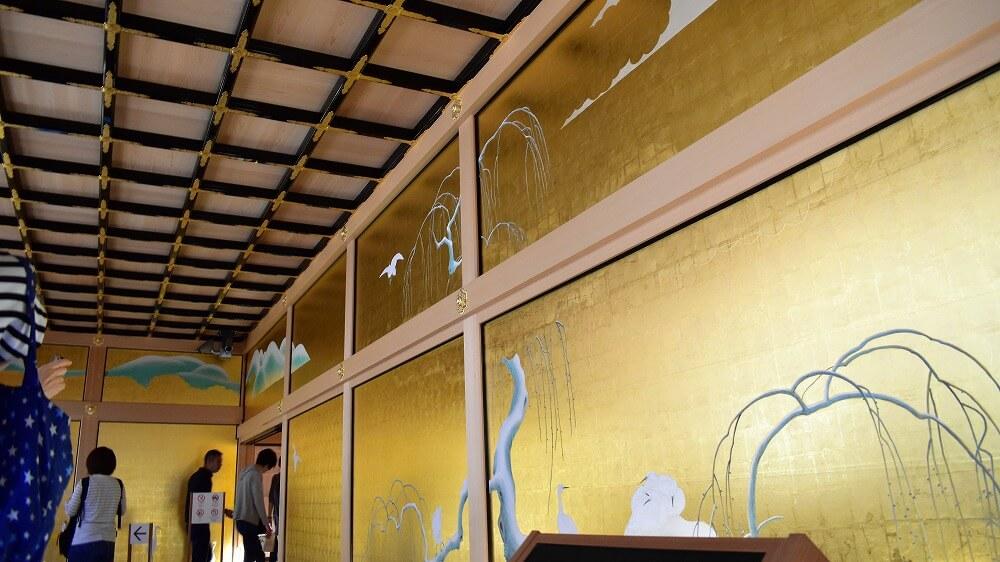 名古屋城本丸御殿鷺之廊下