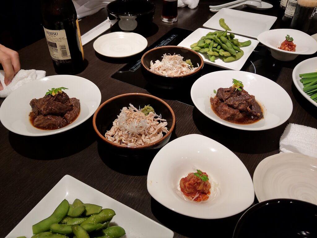 博多もつ鍋 やま中 赤坂店 一品料理