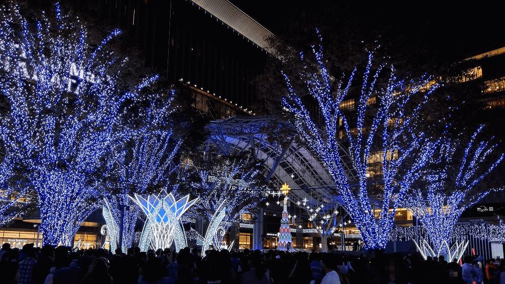 博多駅点灯式イルミネーション