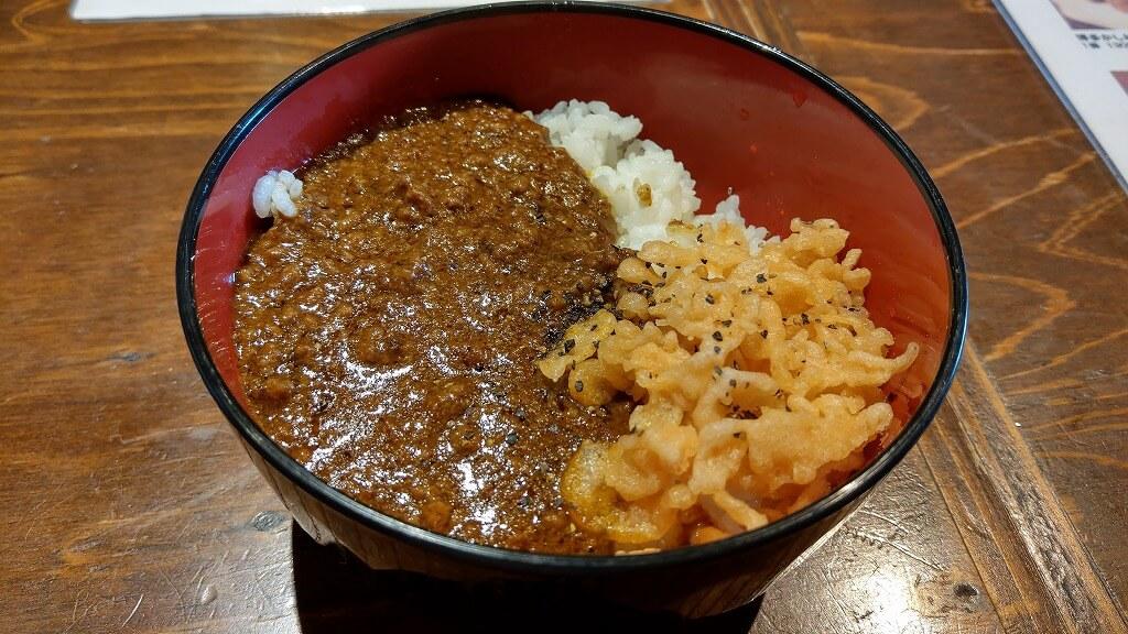 博多 あかちょこべ キーマカレー丼