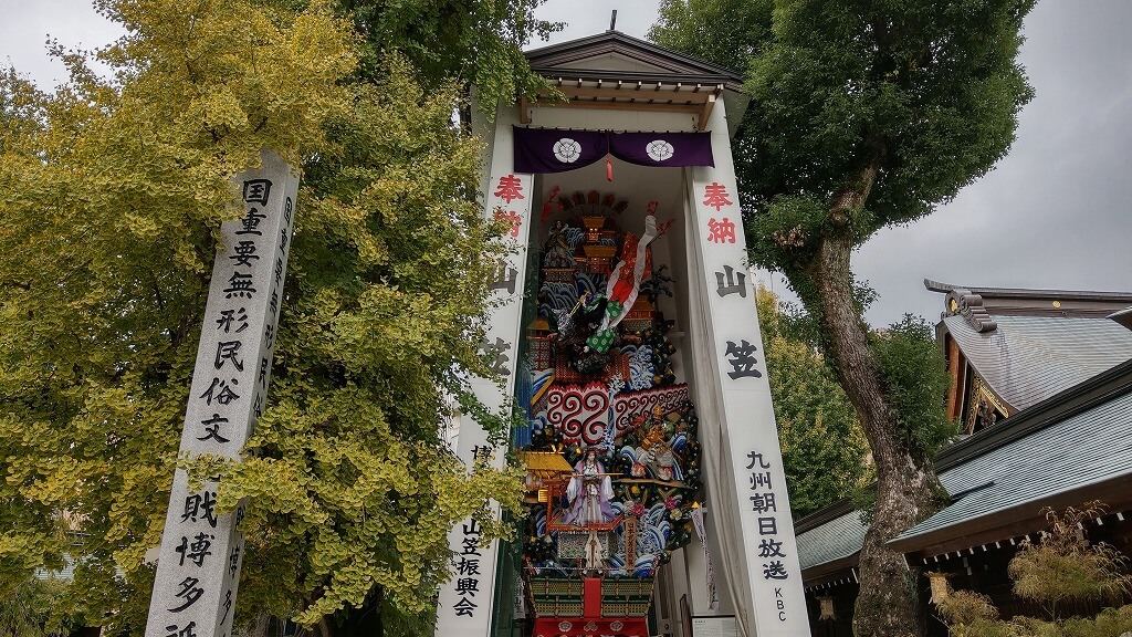 櫛田神社 飾り山笠