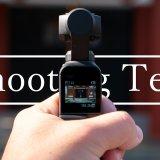 DJI Osmo Pocket 撮影テスト