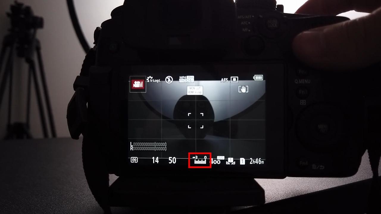Panasonic LUMIX GH5 液晶画面