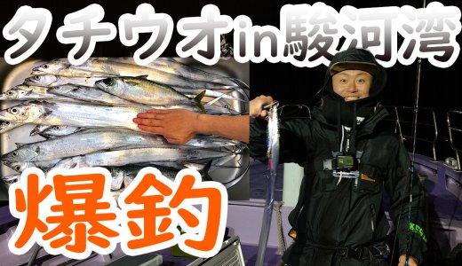 沼津静浦の釣り船「勘栄丸」でタチウオを初心者がエサ釣りに挑戦!