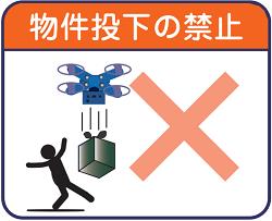 物件投下の禁止