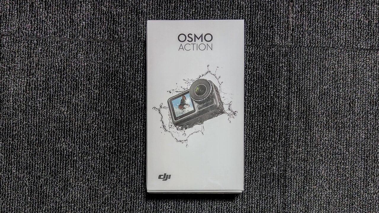 DJI Osmo Action 外箱パッケージ