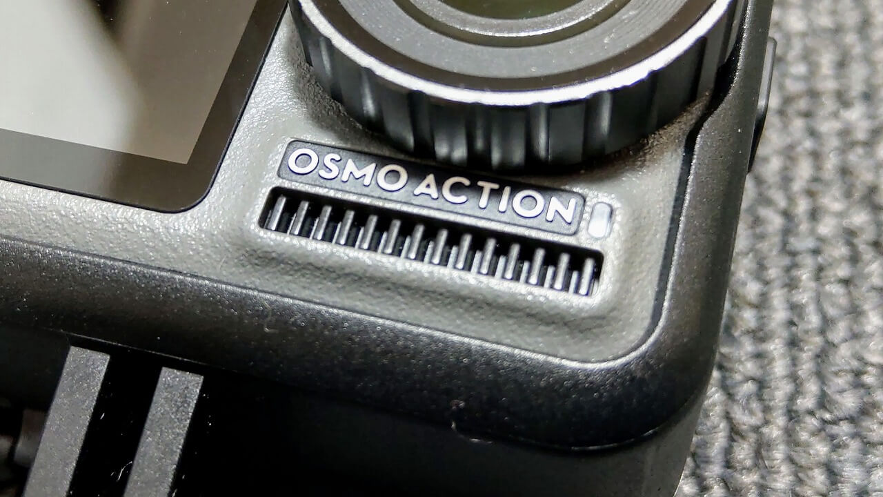 DJI Osmo Action 金属フィン