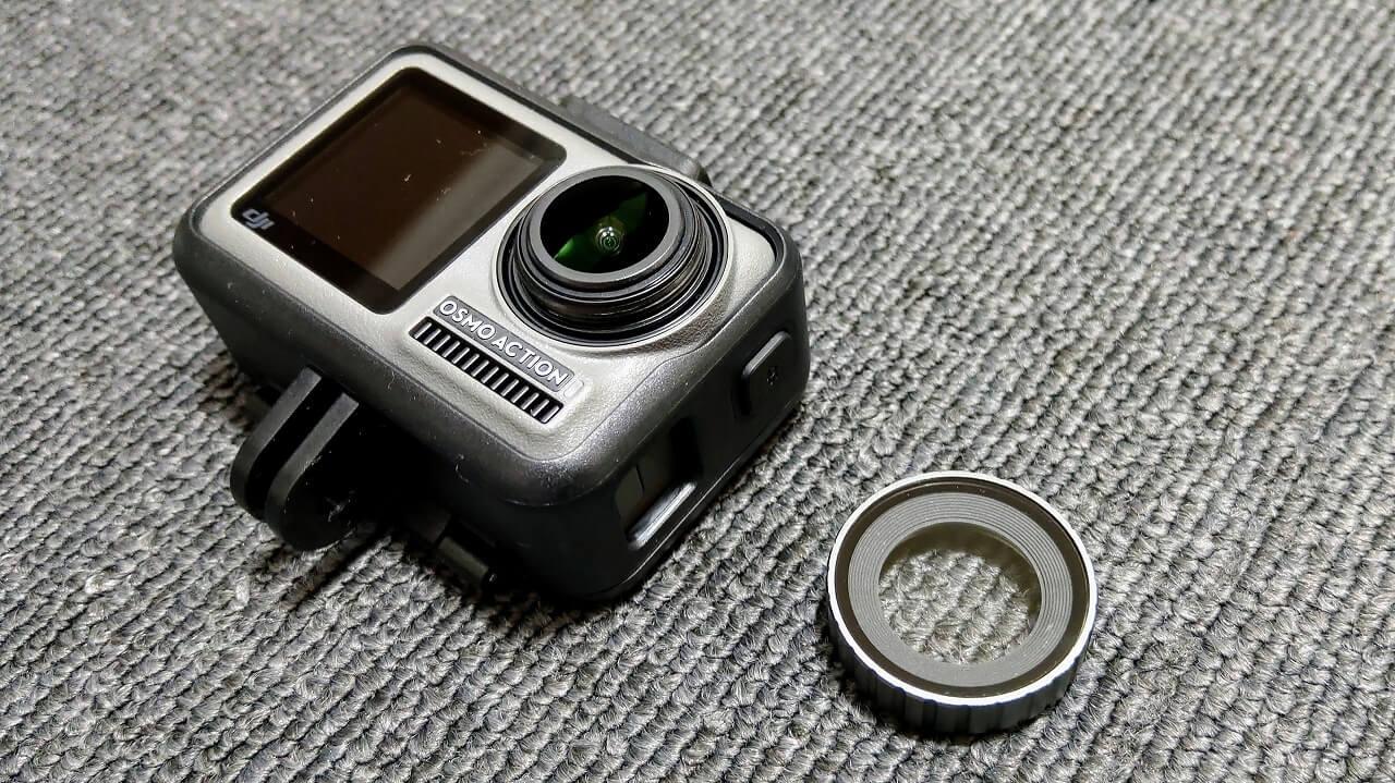 DJI Osmo Action レンズフィルター