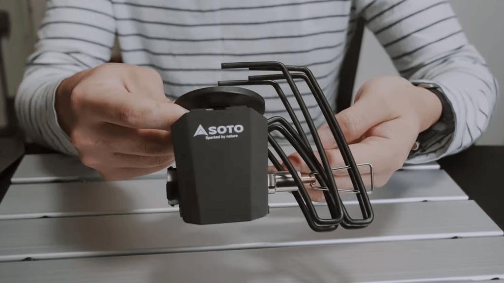 SOTO ST-310の遮熱板