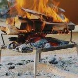 DOD秘密のグリルちゃんで焚き火