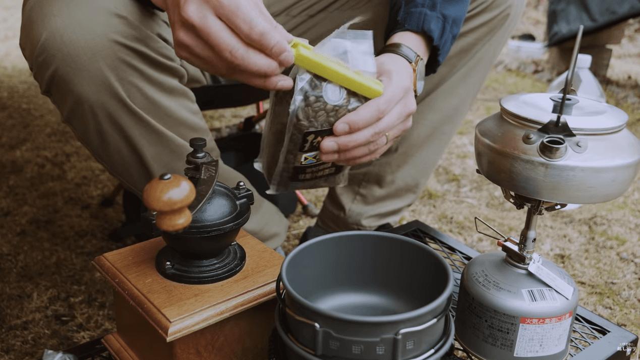 SOTO アミカスでお湯を沸かす