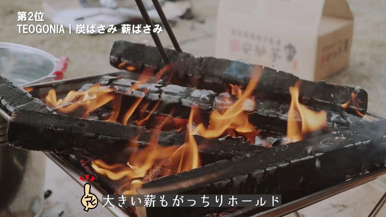 TEOGONIA Fireplace Tongs 炭ばさみで薪をしっかりホールド