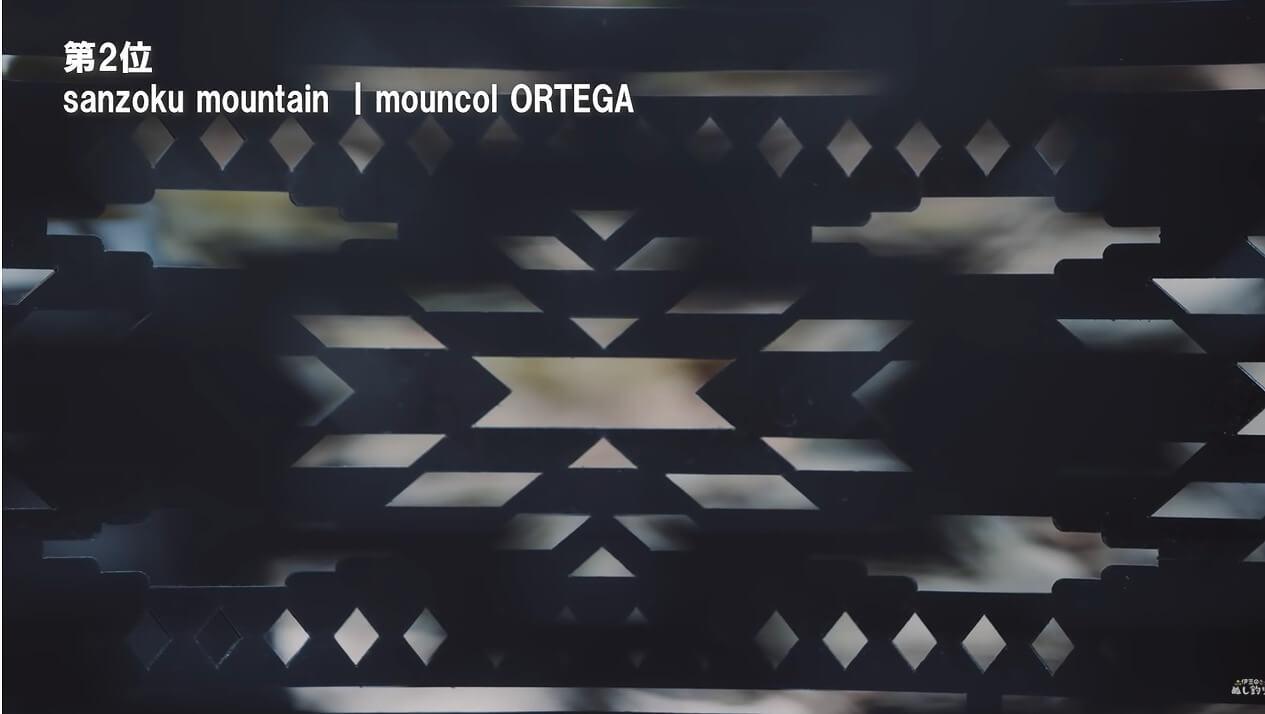 sanzoku mountain mouncol ORTEGAの幾何学模様