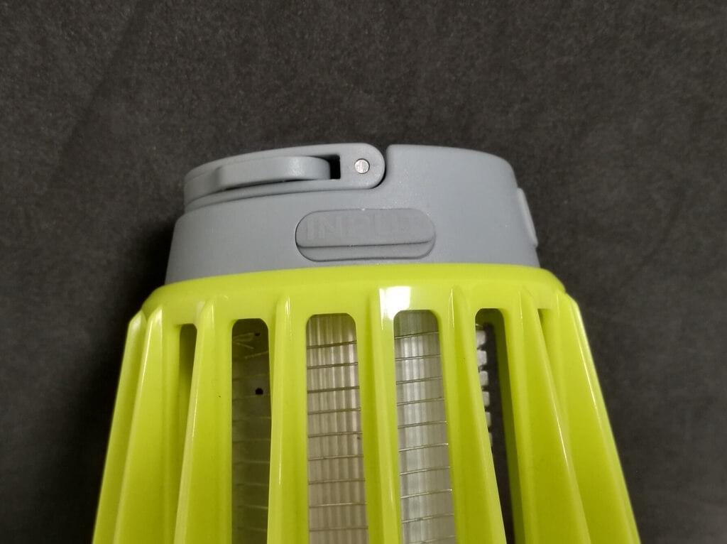 ENKEEO LEDランタン 充電端子に保護キャップ