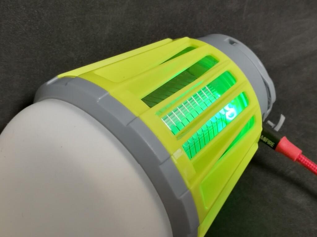 ENKEEO LEDランタン 充電完了