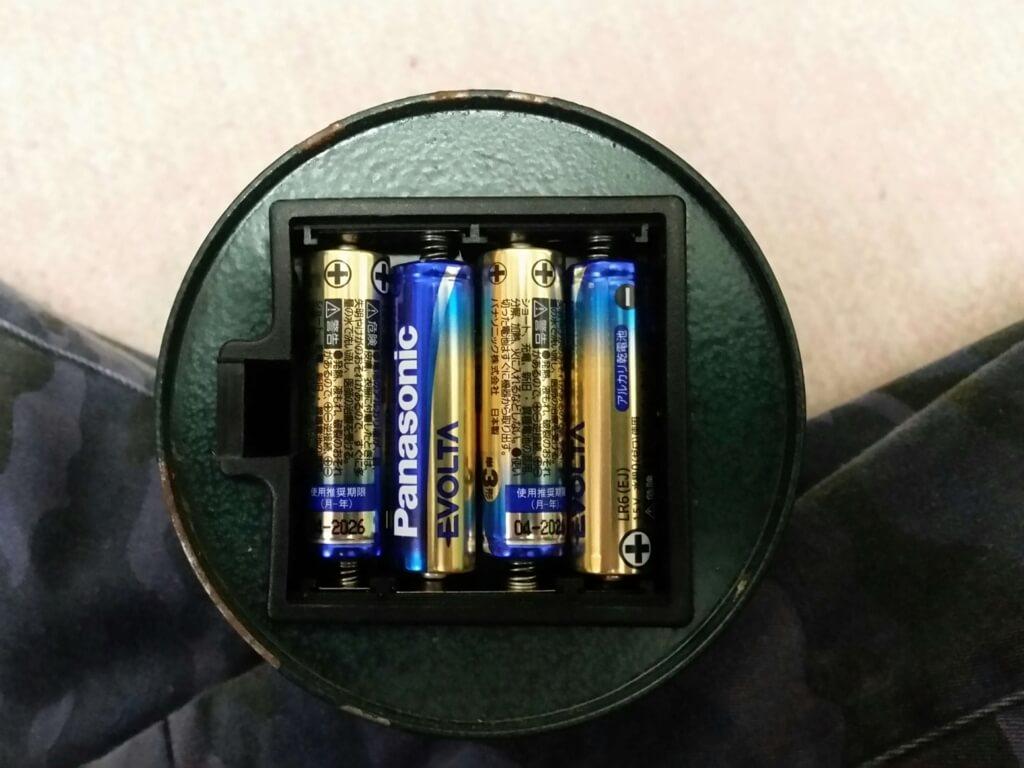 アンティーク調LEDランタン電池入れ