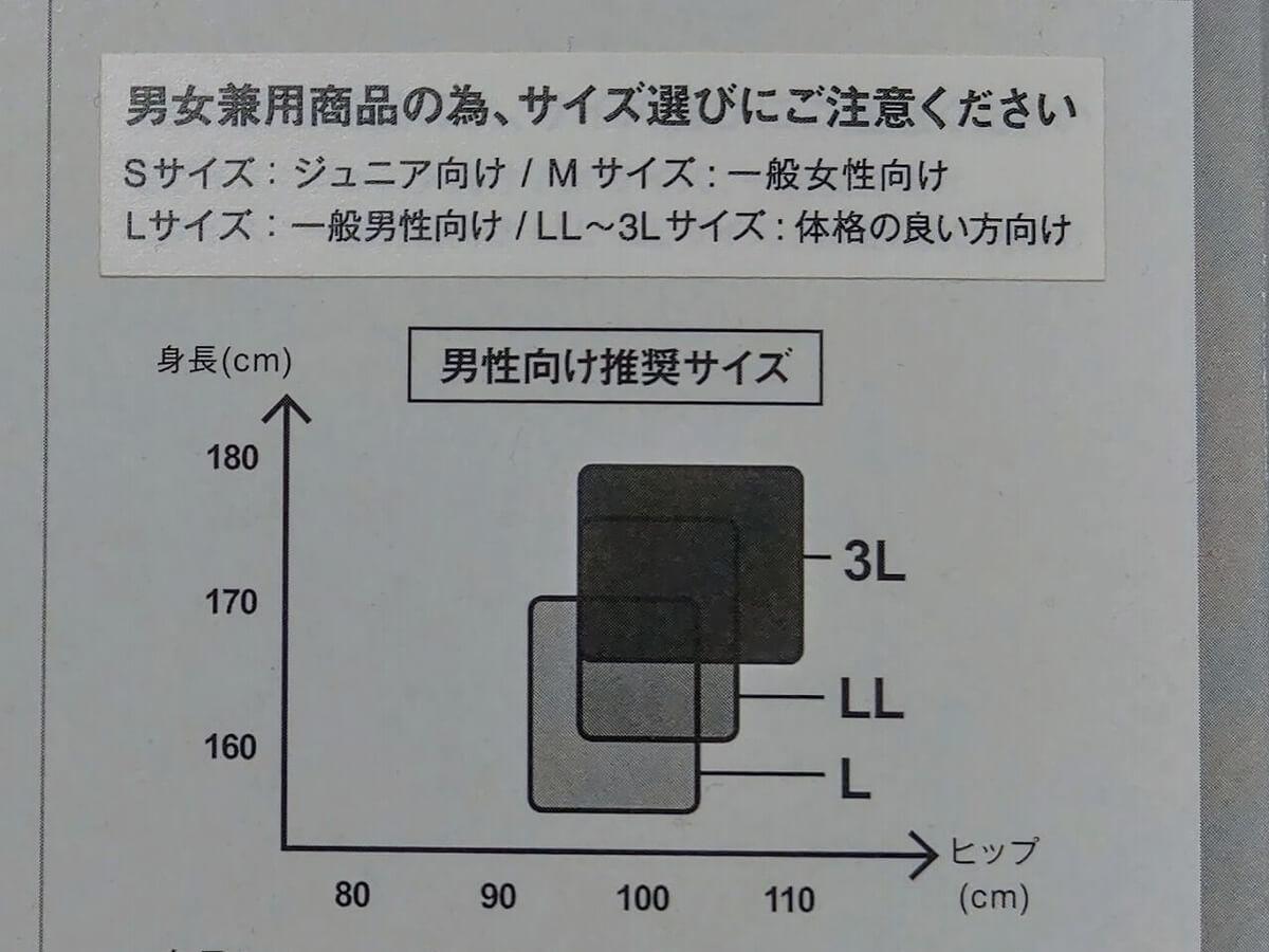 Runtage アスリートランナーPRO V3 男性向け推奨サイズ