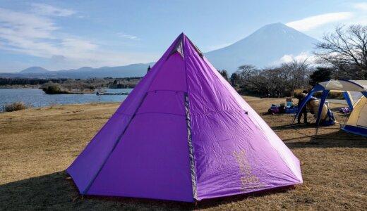 DOD ワンポールテントと富士山
