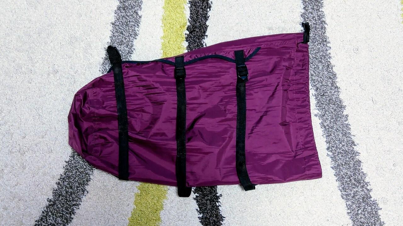 oxtos NEW透湿防水コンプレッションバッグ 20L
