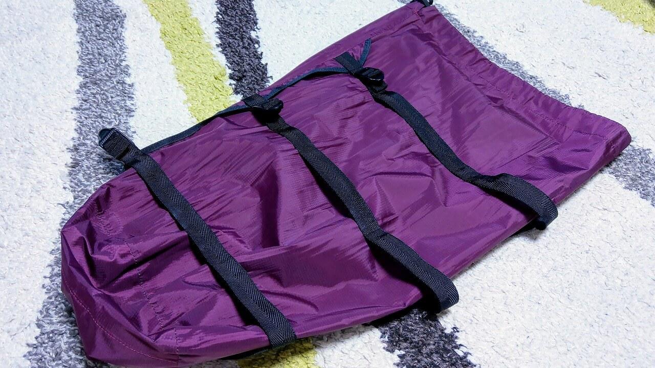 oxtos NEW透湿防水コンプレッションバッグのベルト