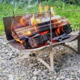 tawamure 1号で焚き火