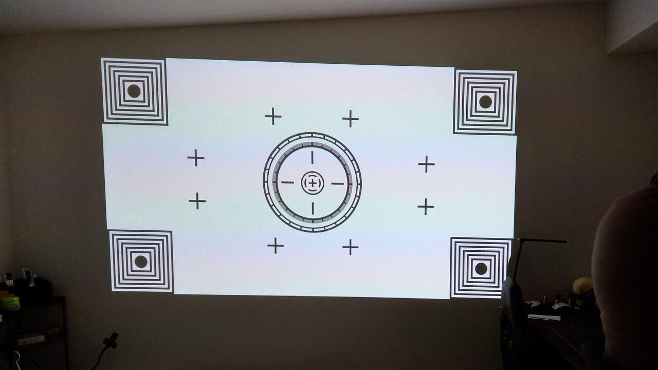Cinemage シネマージュ モバイルプロジェクターのオートフォーカス