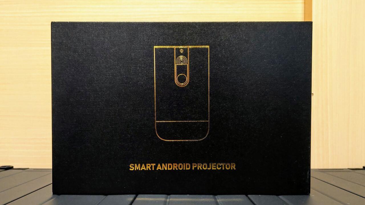 Cinemage シネマージュ モバイルプロジェクター 高級感のある外箱