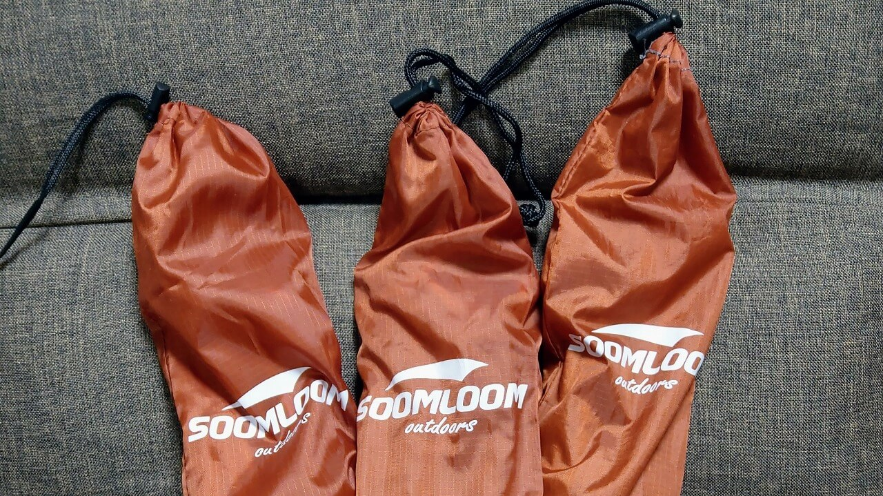 Soomloom チタンペグを3セット購入