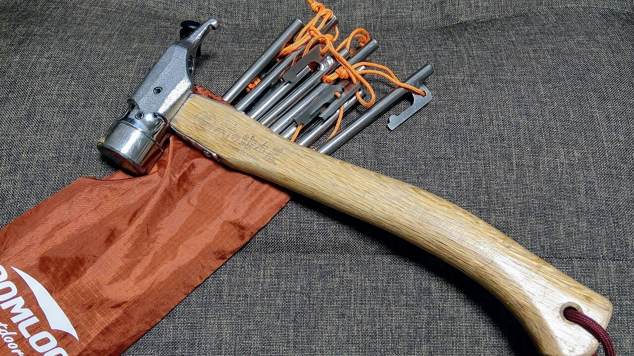 Soomloom チタンペグと村の鍛冶屋 アルティメットハンマー
