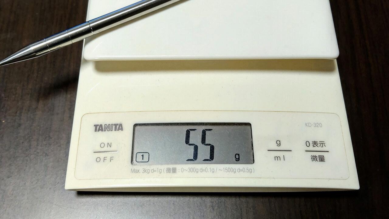 Soomloom チタンペグ 重量