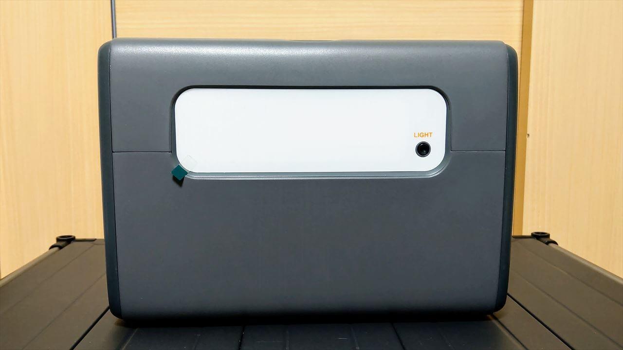 BLUETTI ポータブル電源 EB55 背面 LEDライト
