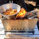 シェラカップを直火で加熱