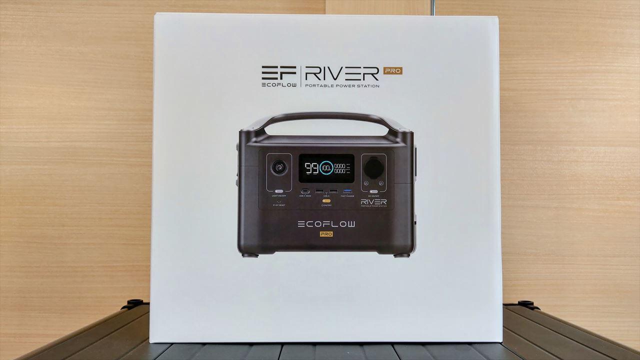 EcoFlow RIVER Pro ポータブル電源 外箱